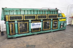 Used Timesavers Vibratory Deburring Machine Large Tub Type