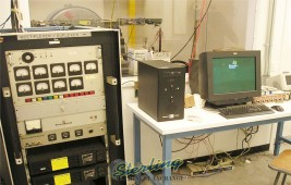 Used Vibration Electrodynamic Test System with Shaker and Slip Plate For Environmental Electronics Testing (LARGEST FORCE ELECTRODYNAMIC SHAKER IN EXISTANCE)
