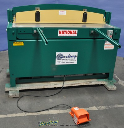 Brand New National Hydraulic Shear