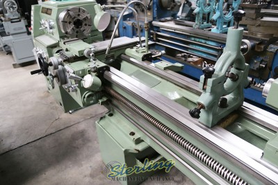(New Old Stock) Mighty Turn Geared Head Gap Bed Lathe